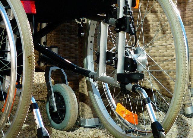 Rollstuhl im Alter