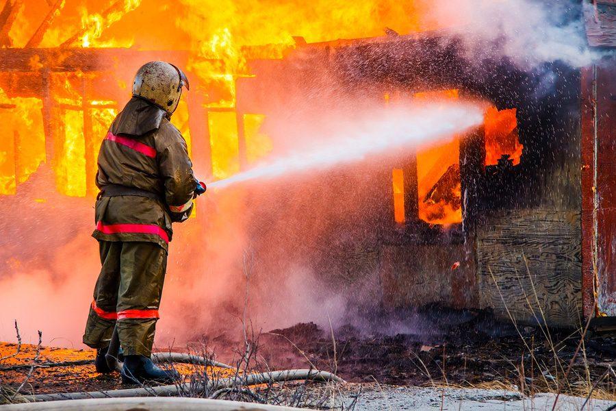 Hausbrand durch Unachtsamkeit