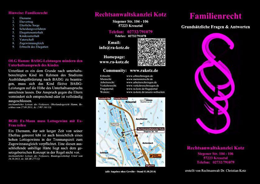 familienrecht 2014