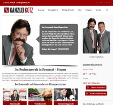 webseite kanzlei-kotz