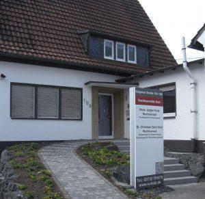 Rechtsanwälte in Siegen Kreuztal Eingang