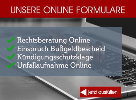 Online Formulare Kanzlei Kotz