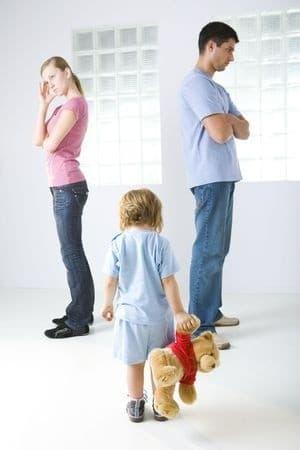 Streitigkeiten in der Familie