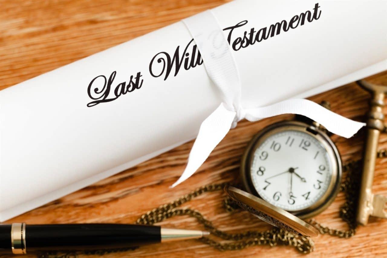 Testament - Letzter Wille im Erbrecht