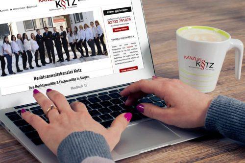webseite rechtsanwaelte kotz
