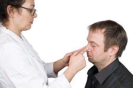 Nasenbeinbruch