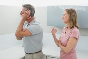 Streit in der Ehewohnung