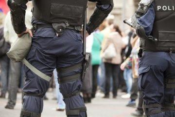 Identitätsfeststellung wegen Nahaufnahmen von Polizeibeamten
