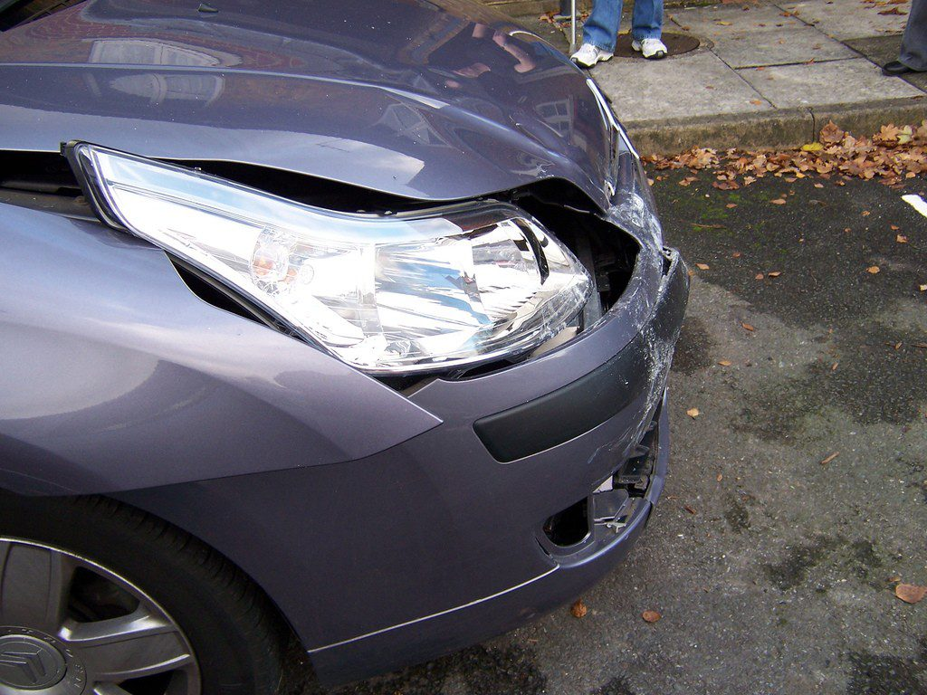 car damage photo