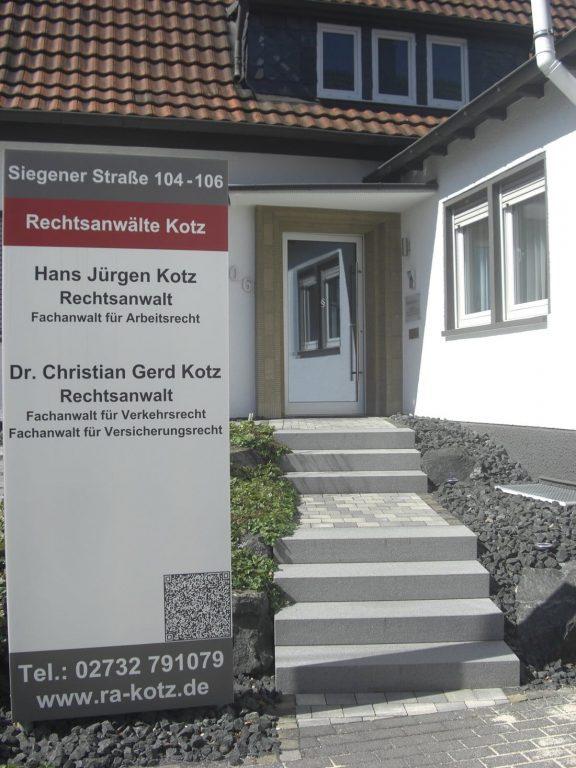 Zugang Kanzlei Kotz