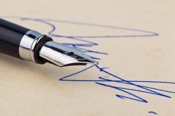 Berufungsbegründung – Unterschrift