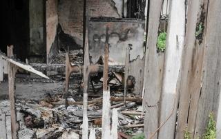Einbruch Vandalismus und Brandstiftung