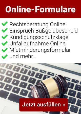Online-Formulare Kanzlei Kotz