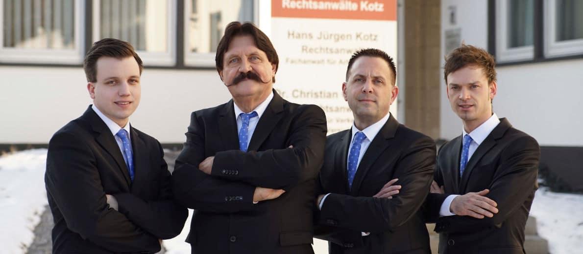 Ihre Rechtsanwälte in der Kanzlei Kotz