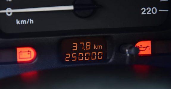 Tatsächliche Kilometerleistung