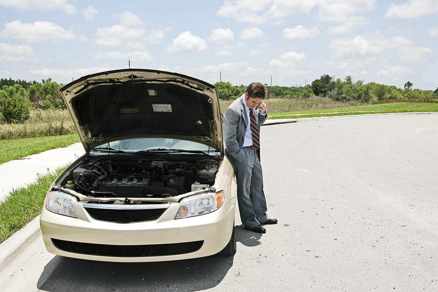 Aufspringen der Motorhaube Unfall Haftung