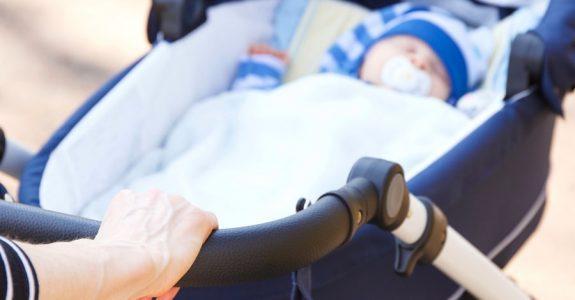 Kinderwagenverbot im Hausflur