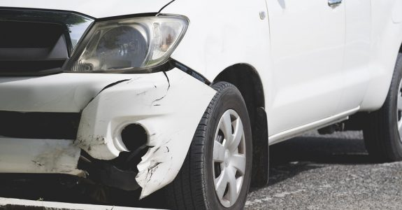 Verkehrsunfall Privatgelänge Fahrerflucht