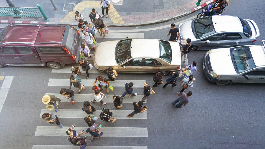 Fußgängerüberweg - Wartepflicht eines Fahrzeugführers