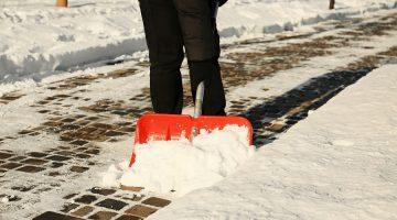Schnee räumen und Streupflicht