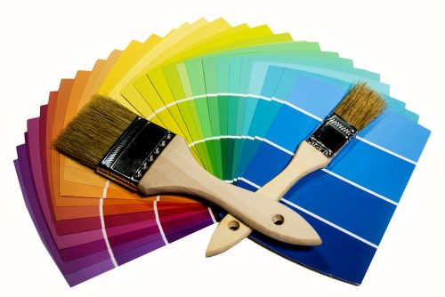 Renovieren Farbwahl