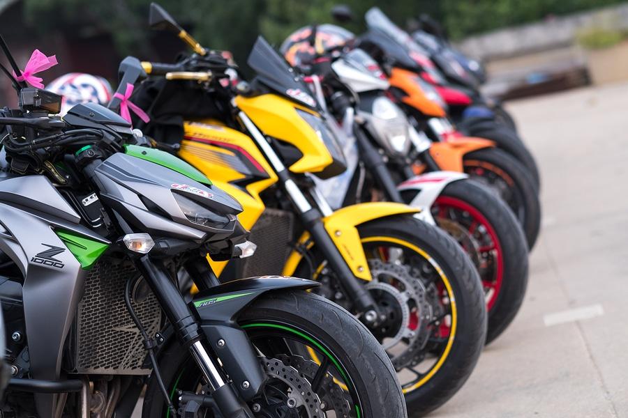 Verkauf und die Reparatur von Motorrädern