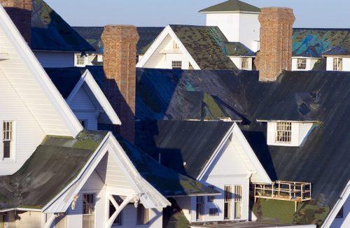 Sturmschaden - Gefahrerhöhung bei leerstehenden Wohnhäusern