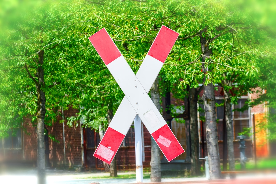 Verkehrsunfall: Wartepflicht vorm Andreaskreuz
