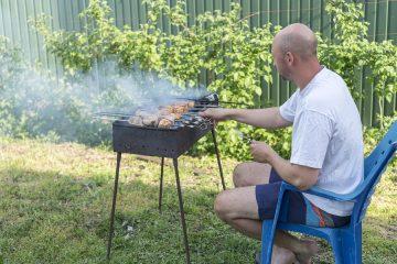 Rauch- und Geruchsbelästigung durch monatliches Grillen auf Nachbargrundstück