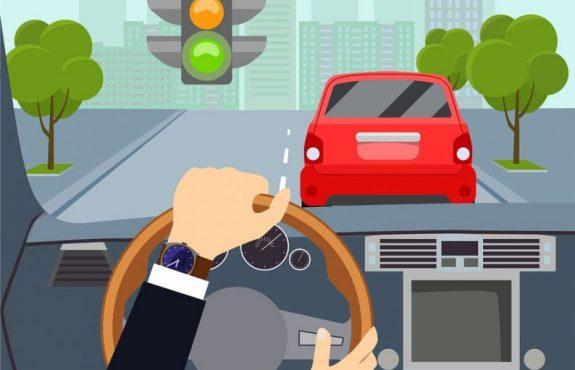 Verkehrsunfall mit einem vorausfahrenden Kfz nach Rotlichtverstoß