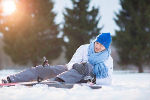 Skiunfall - Schmerzensgeld bei schweren Knieverletzungen und Erwerbsschaden