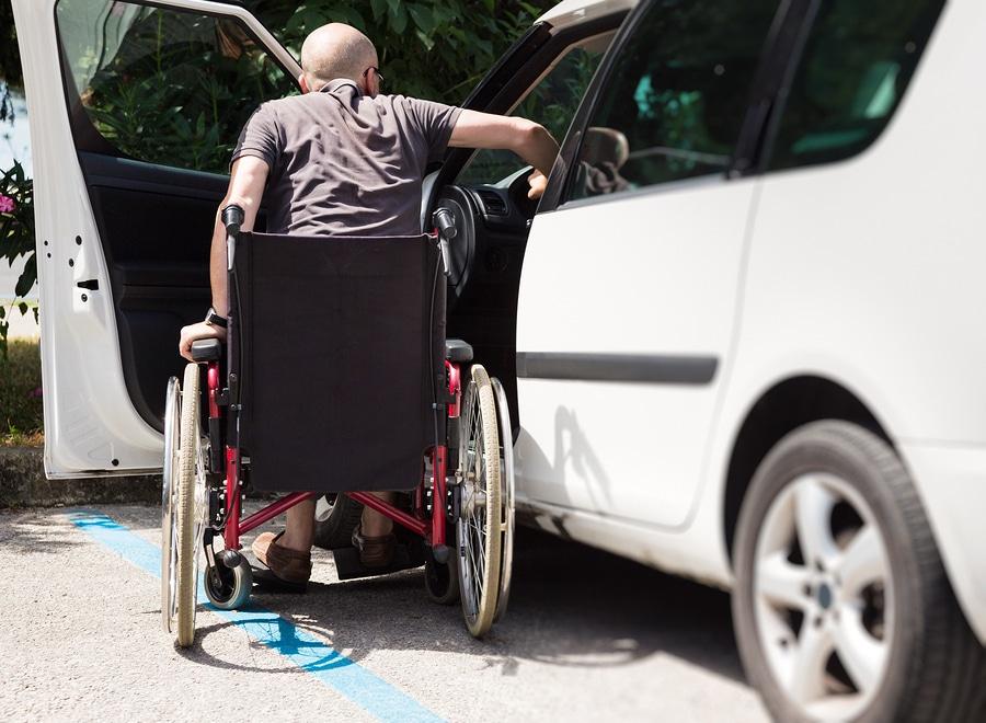 Verkehrsunfall – gewerbliches Behindertenfahrzeug - Anmietung eines Ersatzfahrzeuges