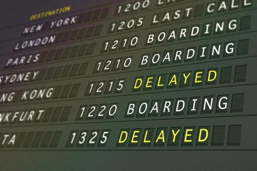 Flugverspätung: Ausgleichsanspruch bei zwei selbständigen Flügen