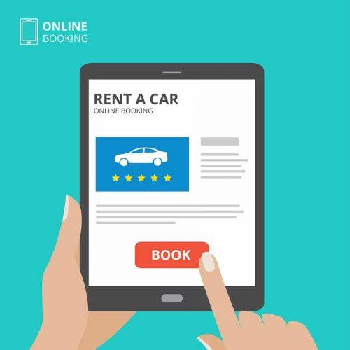 Verkehrsunfall - Vergleichbarkeit von Internetangeboten zu Mietwagen