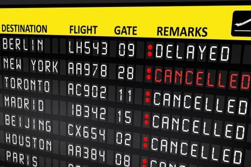 Flugannullierung: Haftungsausschluss bei gravierender Reduzierung des Flugpersonals