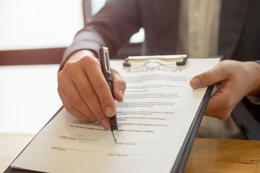 Darlehensvertrag - Zeitpunkt der Vertragsannahme durch Bank