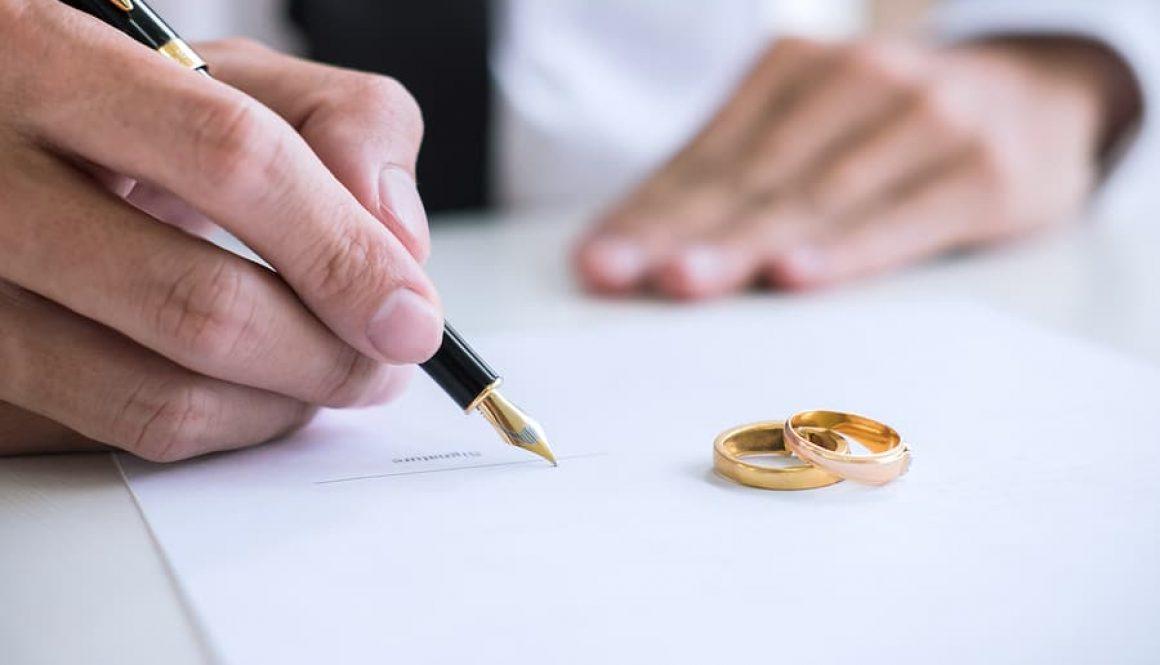 Ehescheidung - Ausschluss des Erbrechts des überlebenden Ehegatten