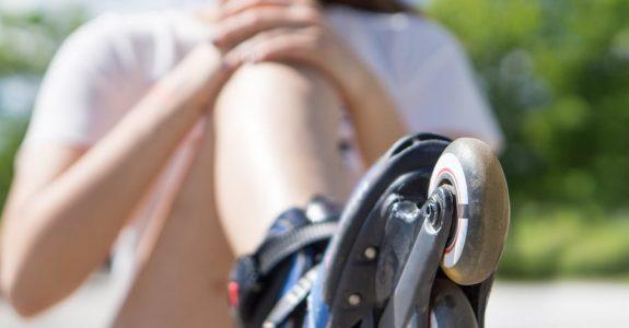 Radfahrerkollision mit Inklineskater - Sorgfaltspflichten eines Inlineskaters
