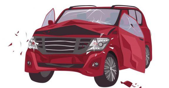 Verkehrsunfall mit wirtschaftlichem Totalschaden - Kostenpauschale für An- und Abmeldekosten