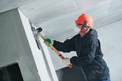 Mauerzerstörung – Eigentumsverletzung – Abzug Neu für Alt