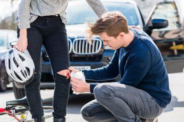 Verkehrsunfall – Schmerzensgeld für Knieverletzung
