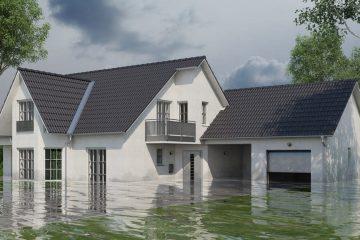 Wohngebäudeversicherung – Überschwemmung/Überflutung des Versicherungsgrundstücks