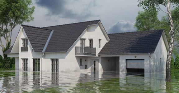 Wohngebäudeversicherung - Überschwemmung/Überflutung des Versicherungsgrundstücks