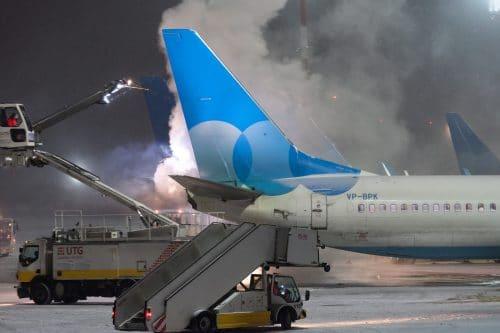 Flugverspätung - Ausgleichzahlung bei wegen Flugzeugenteisung