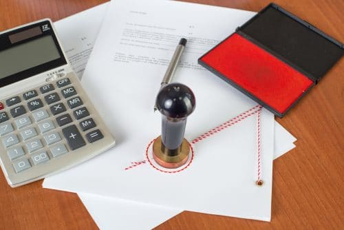 Notarkostenrechnung für Teilauseinandersetzung einer Erbengemeinschaft