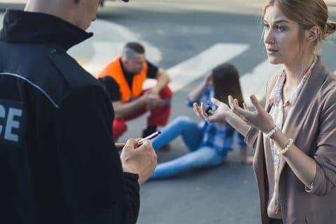 Verkehrsunfall - Zweifel an der Glaubhaftigkeit einer Zeugenaussage