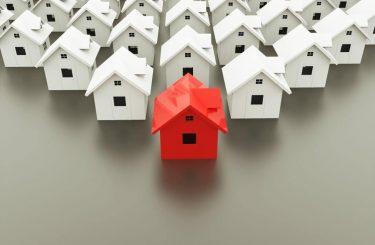 Wohnungseigentumsanlage aus Einfamilienhäusern - bauliche Veränderungen