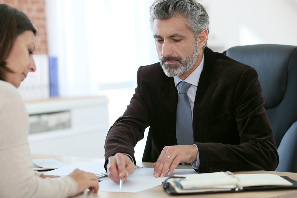 Stellvertretung - Unterzeichnung eines Auftrags durch einen Betreuer
