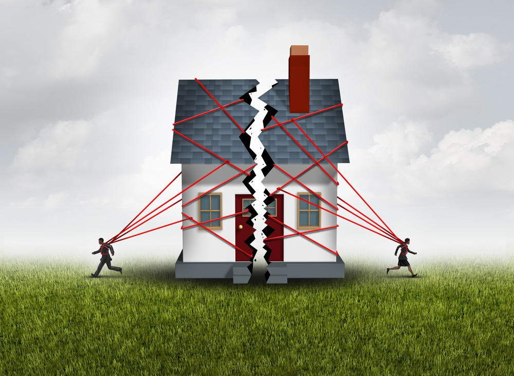 Hausgrundstück - hälftiges Miteigentum des geschiedenen Ehegatten – Nutzungsentschädigung