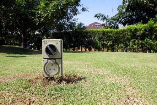 Strombezug über einen Baustromanschluss auf dem Nachbargrundstück - Stromverbrauchsschätzung
